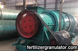 combined organic fertilizer granulator