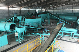 Installation site of NPK fertilizer production equipment