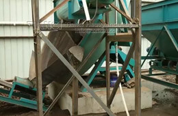 Disc Granulator Production Line Installation Site