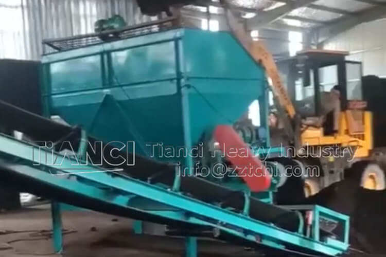 Gansu Organic Fertilizer Production line Site